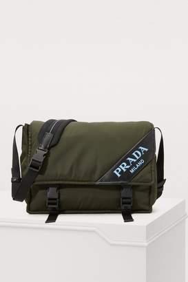 Prada Black Messenger - ShopStyle 7c4e2ec733