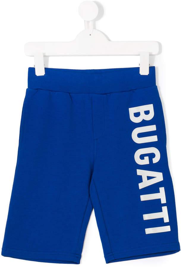 Bugatti Kids logo print track shorts