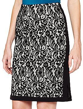 JCPenney Worthington® Lace Pencil Skirt