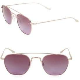 Barton Perreira Doyen 52MM Aviator Sunglasses