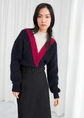 And other stories Varsity Stripe Sweater