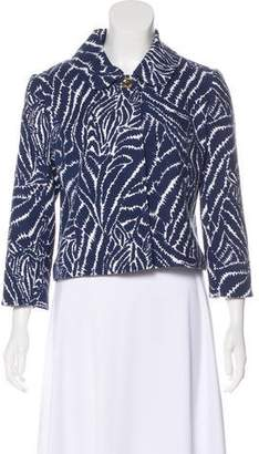 Lilly Pulitzer Cropped Knit Jacket