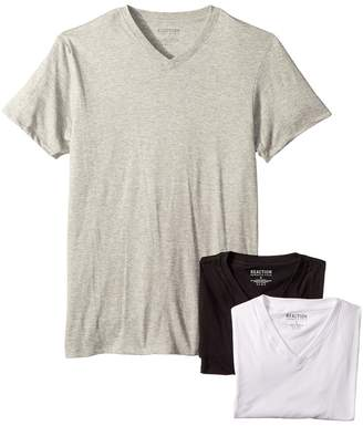 Kenneth Cole Reaction 3-Pack Classic Fit V-Neck Tee Men's T Shirt