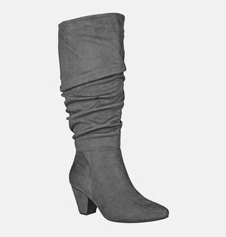 Avenue Maggie Rouched Faux Suede Boot