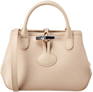 Longchamp Roseau Small Leather Crossbody