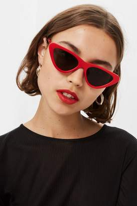 Topshop Pointy Polly Sunglasses