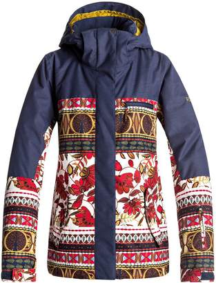 Roxy Torah Bright Jetty Block Hooded Jacket - Women's