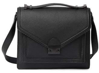 Loeffler Randall Medium Rider Leather Crossbody Bag