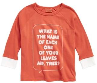 Bobo Choses Mr. Tree Organic Cotton Tee