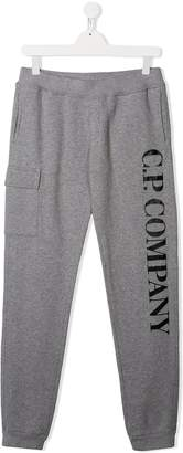 C.P. Company Kids TEEN jersey sweatpants