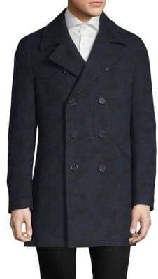DKNY Classic Long-Sleeve Coat