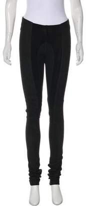 Rick Owens Suede Skinny Pants
