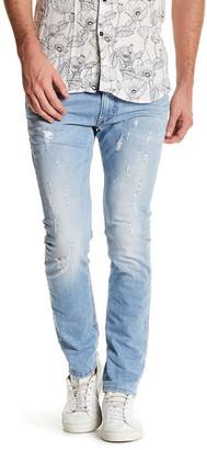 Diesel Thavar Distressed Slim Skinny Jean $218 thestylecure.com