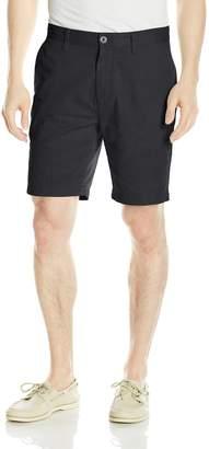 Nautica Men's Standard Cotton Twill Flat Front Chino Short