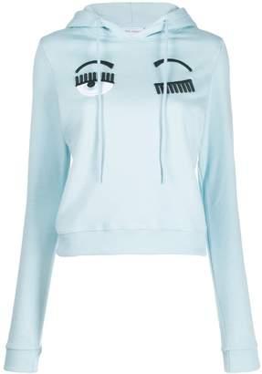 Chiara Ferragni flirting eyes sweatshirt