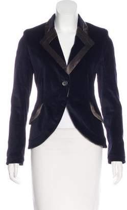 Proenza Schouler Structured Velvet Blazer