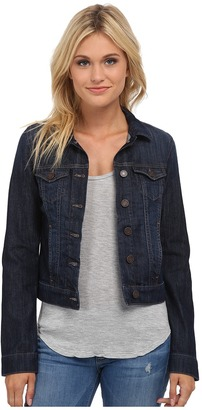 Mavi Jeans - Samantha Denim Jacket in Dark Nolita Women's Coat $98 thestylecure.com