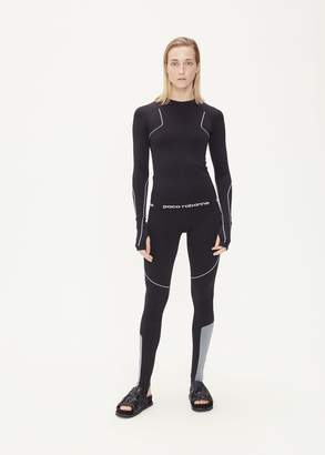 Paco Rabanne Long Sleeve Crew Neck Knit