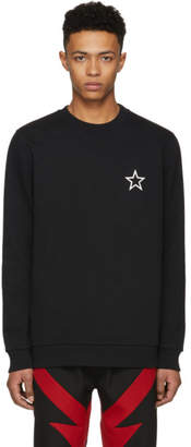 Givenchy Black Star Sweatshirt