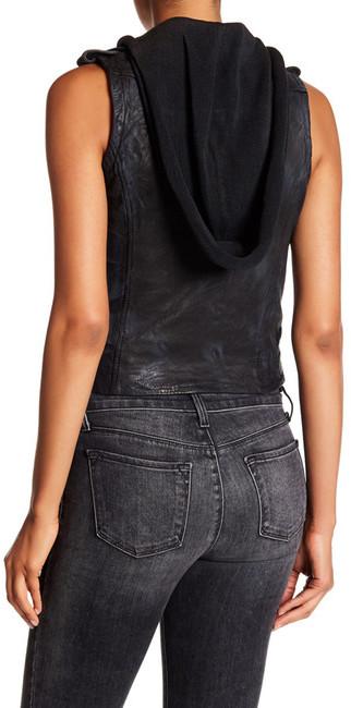 DomaDoma Moto Vest with Detachable Hood