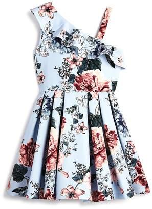 Bardot Junior Girls' Floral Asymmetrical Dress
