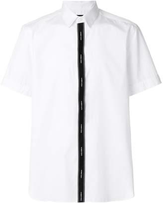 Dolce & Gabbana logo band placket shirt
