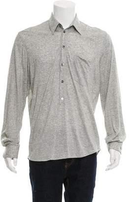 Helmut Lang Vintage Long Sleeve Polo Shirt