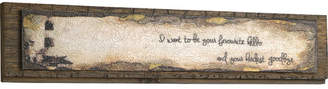 Andover Mills 'Favourite Hello' Graphic Art on Wood