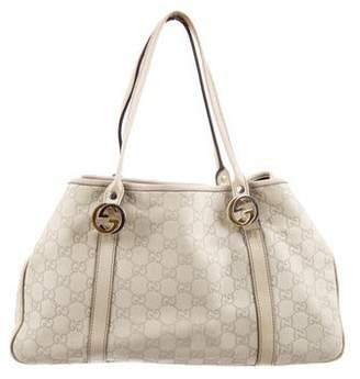 b13026e9cbb Gucci Guccissima Tote - ShopStyle