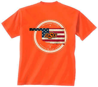New World Graphics Men Oklahoma State Cowboys Flag Fill T-Shirt