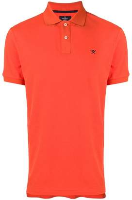 Hackett embroidered logo polo shirt