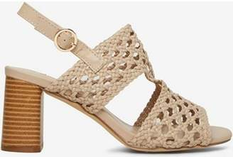 Dorothy Perkins Womens Nude 'Sammy' Woven Sandals