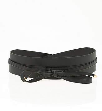 Le Château Leather-Like Obi Belt