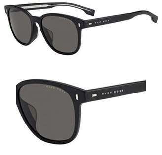 HUGO BOSS BOSS by Men's Boss 0953/f/s Polarized Rectangular Sunglasses