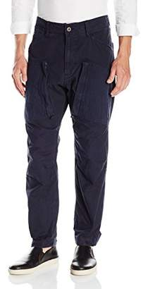 G Star Men's Ospak Pm 3D Tapered Cuffed Canvas Pant
