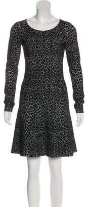 Alaia Long Sleeve Knee-Length Dress