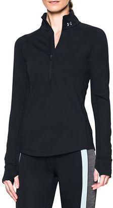 Under Armour Solid Long Sleeve Top $59.99 thestylecure.com