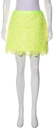 Ungaro Lace Mini Skirt