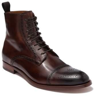 Antonio Maurizi Leather Cap Toe Boot