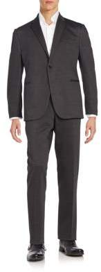 Armani Collezioni Regular-Fit Houndstooth Suit