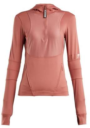 adidas by Stella McCartney Run Hooded Performance Top - Womens - Pink