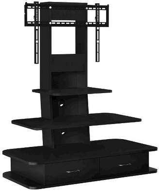"""Room & Joy Solar TV Stand with Mount and Drawers for TVs up to 70"""" Wide"""