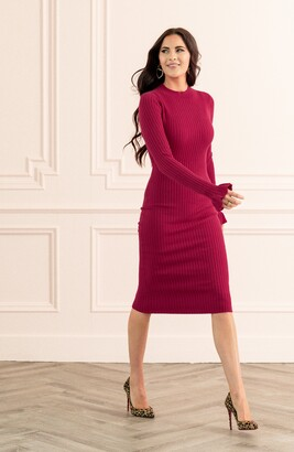 Rachel Parcell Rib Sweater Dress