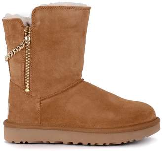18c38d6d024 UGG Suede Ankle Boots For Women - ShopStyle UK
