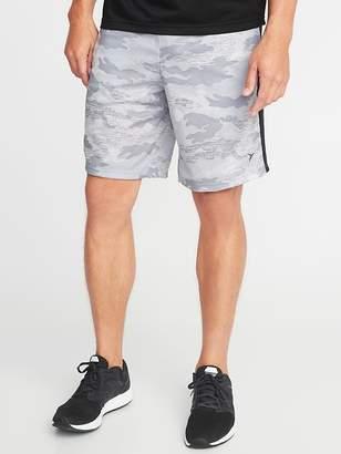 Old Navy Go-Dry Mesh Side-Stripe Shorts for Men - 10-inch inseam