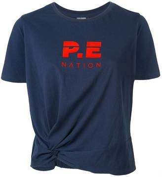 P.E Nation Lay Up logo T-shirt
