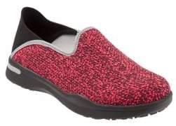 SoftWalk Simba Textured Slip-On Sneakers