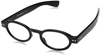 A. J. Morgan A.J. Morgan Unisex-Adult Elroy - Power 53528 Oval Reading Glasses