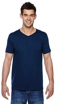 Fruit of the Loom Men's V-Neck T-Shirt (4 Pack)
