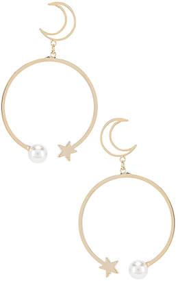 Shashi Mona Moon Drop Earrings